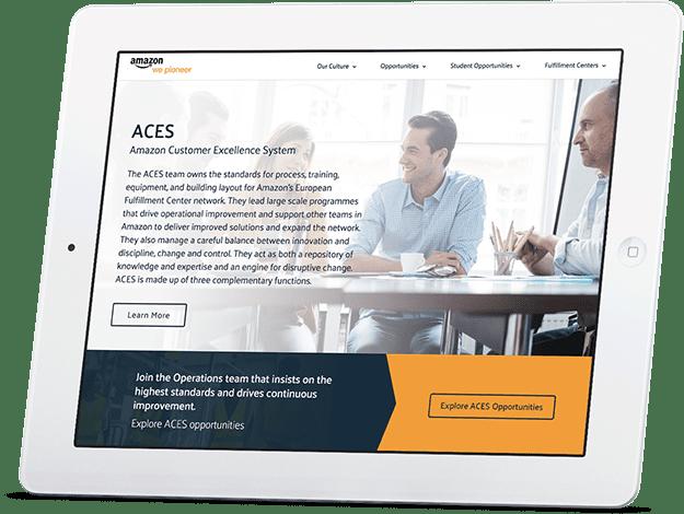 We design and develop responsive websites.