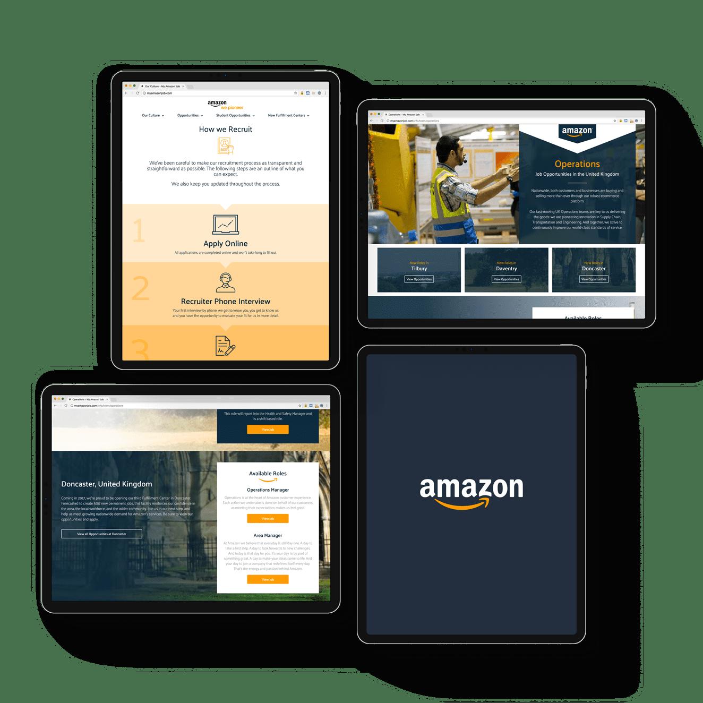 Amazon iPad Composition